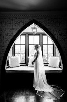 Mariée prête pour la cérémonie